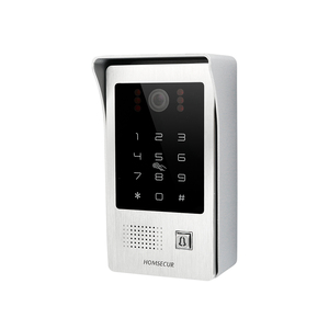 "Image 4 - HOMSECUR 4 Wire 7"" AHD 1.3MP Video&Audio Smart Doorbell with Outdoor Monitoring RFID Password Unlock Motion Detection Support"