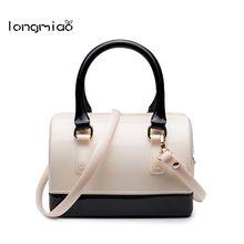 Longmiao Mode Frauen PVC Gelee Tasche Marken Designer Mini Handtaschen Mädchen Bonbon Messenger Strand Taschen Kleine Crossbody Beutel