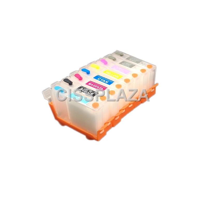 CISSPLAZA 2sets 16pcs CLI 42 Series empty Refillable Ink Cartridge compatible For CANON Pro100 printer