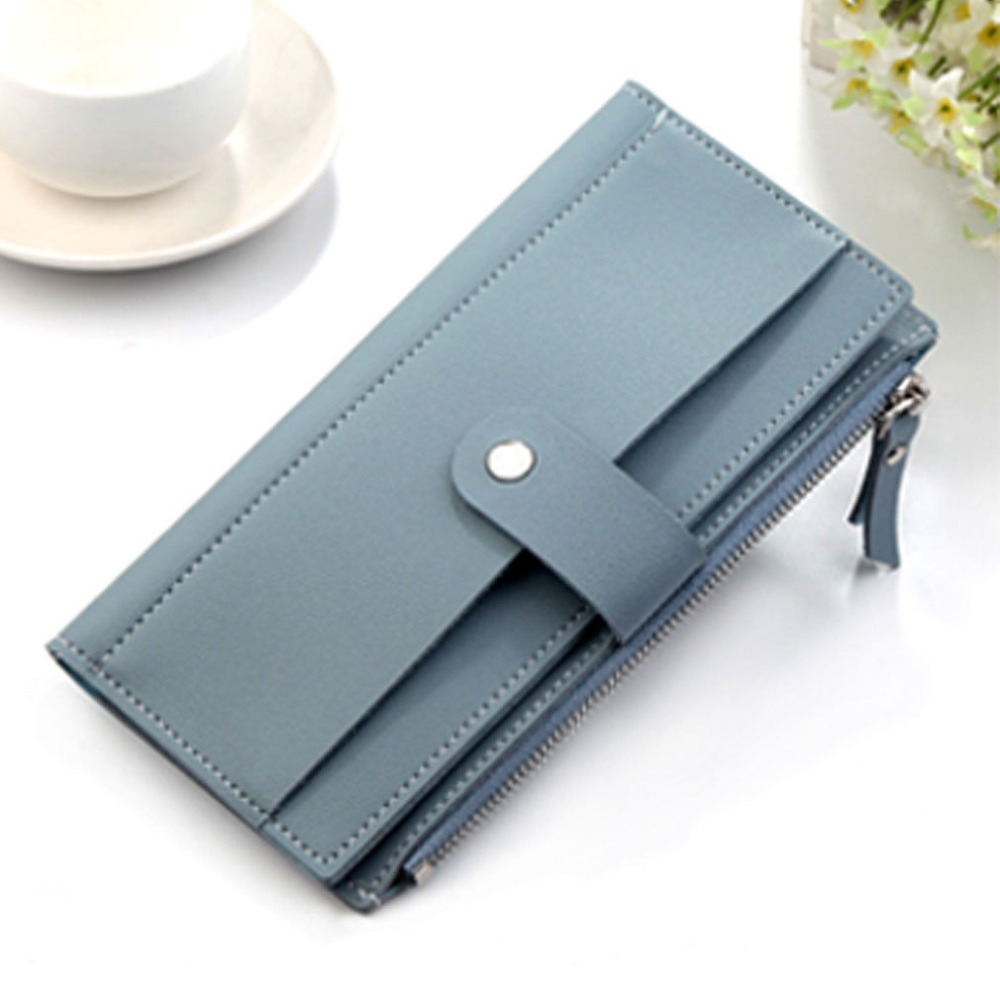 Fashion Women PU Leather Wallet Purse Long Handbag Clutch Phone Card Holder new arrivals fashion women pu leather zipper wallet clutch card holder purse lady long handbag dec26