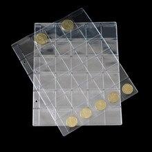 0e4bcc583 10 piezas PCCB monedas álbum páginas hojas hoja suelta PET/PVC 20/30/42 bolsillo  álbum mangas páginas
