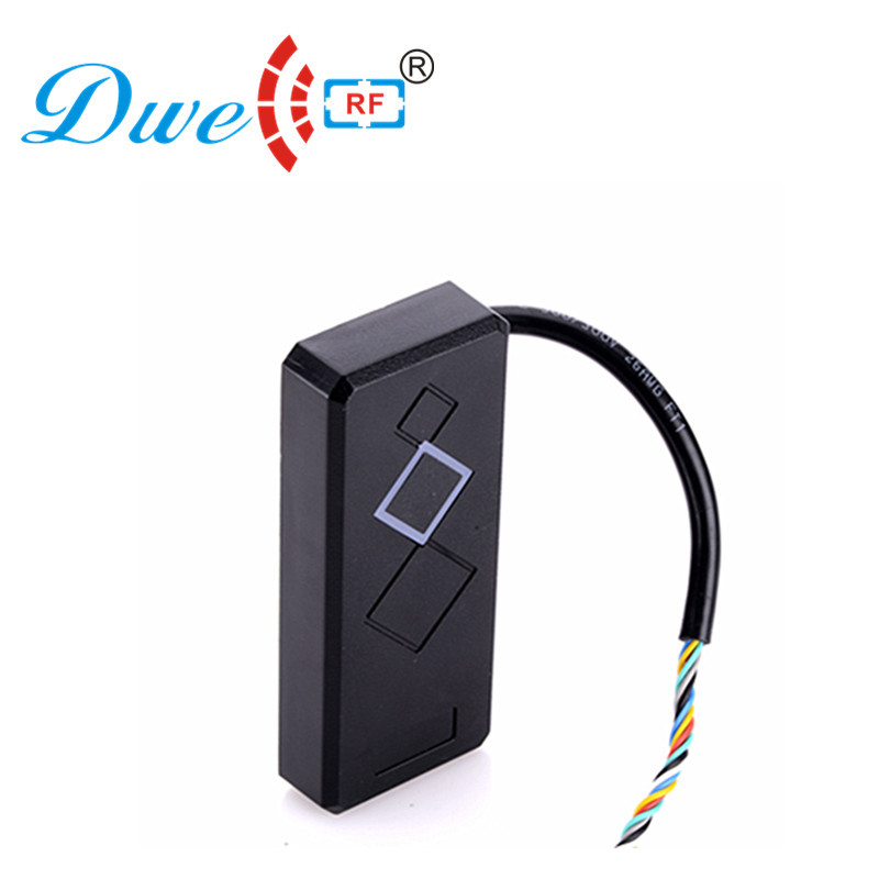 DWE CC RF Control Card Readers  Wiegand 26  rf gate access control card rfid reader 125khz dwe cc rf 125khz em id wiegand 26 outdoor access control reader support tk4100 card ip65 002m 26