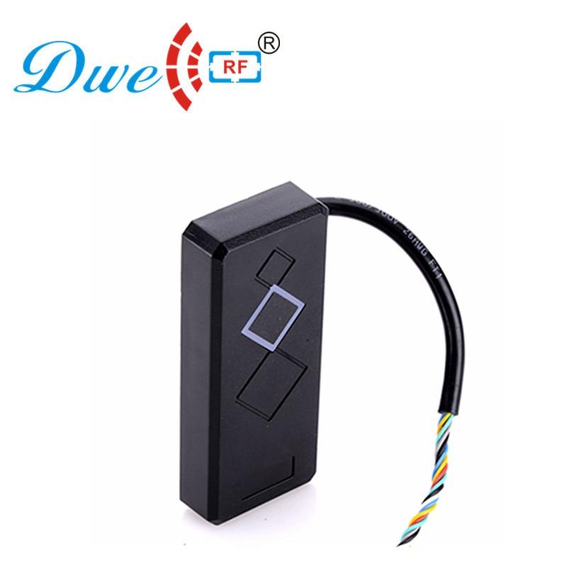 DWE CC RF Controle de Leitores de Cartão Wiegand 26 rf portão de controle de acesso leitor de cartão rfid 125 khz