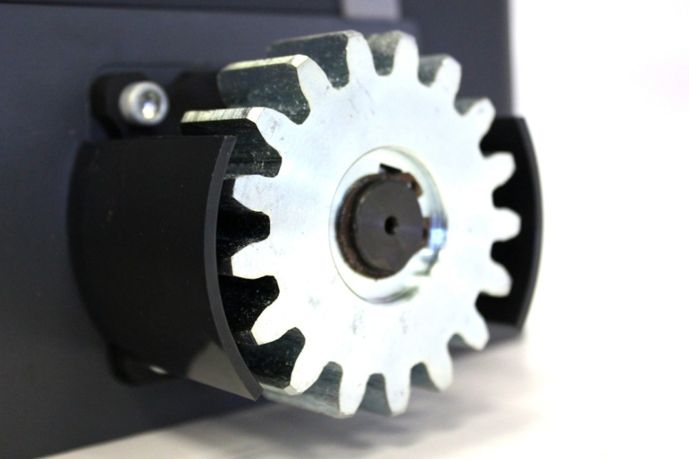 Opérateur automatique de porte coulissante de 500AC/moteur de vitesse pour les portes résidentielles poids 500 kg avec la photocellule légère de clavier de supports facultative - 3