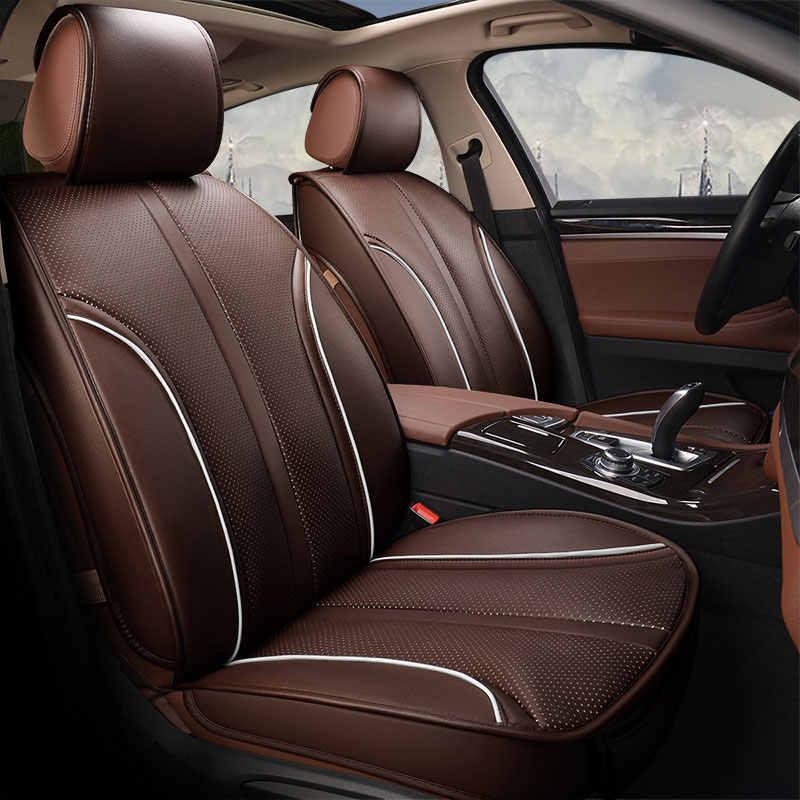 עור רכב כיסוי מושב מכונית אוניברסלי מכסה עבור סובארו אימפרזה טרייבקה sti xv פורסטר legacy אאוטבק 2010 2011 2012 2013
