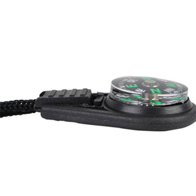 10Pcs Mini Survival Filled Mini Compass 6