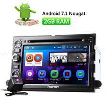 Camera & Eonon 7″ Android 7.1 Car CD DVD Player GPS Navigation For Ford F150 2005 2006 2007 2008 Radio Stereo DAB WiFi