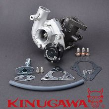 Kinugawa Billet Turbocharger TD05HR-18G w/ Billet W/G for Mitsubishi Lancer EVO 9 [Billet CW & 12 Blades TW] kinugawa turbo turbine wheel for mitsubishi 4g63t lancer evo 4 9 td05hr w 12 blades