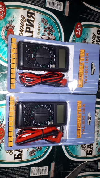 DT-182 Digital Mini Multimeter DC/AC Voltage Current Meter Handheld Pocket Voltmeter Ammeter Diode Triode Tester Multitester