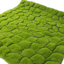 100cm Simulation green plant wall moss turf simulation lawn grass scene window display fake Artificial masses