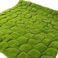 1m simulação planta verde parede musgo relvado simulação gramado falso grama cena loja janela exibir falso musgo artificial massas gramado