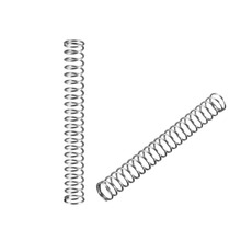 UXCELL 20Pcs Springs Wire Diameter 0.01/0.012/0.02/0.024/0.039 OD 0.08/0.2/0.31 Stainless Steel Coil Extended Compressed