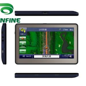 5 Inch Win CE 6.0 Car GPS Navigation Rad