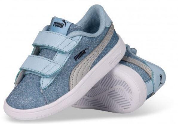 ea8fb9c41b4 Puma Smash v2 Glitz Glam V Inf Zapatillas Nina-in Athletic Shoes ...