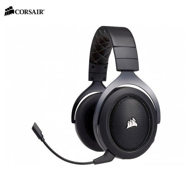Наушники и наушники CORSAIR HS70 CARBON Surround Gaming Headset беспроводные esports компьютерные ПК