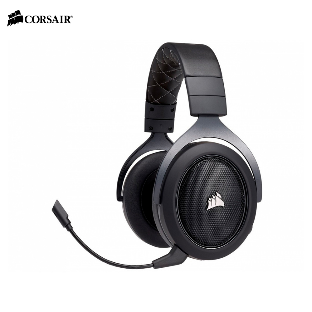 Earphones & Headphones CORSAIR HS70 CARBON Surround Gaming Headset wireless esports computer PC original xiberia v10 usb gaming headphones vibration led stereo around gaming headset headphone with microphone mic for pc gamer