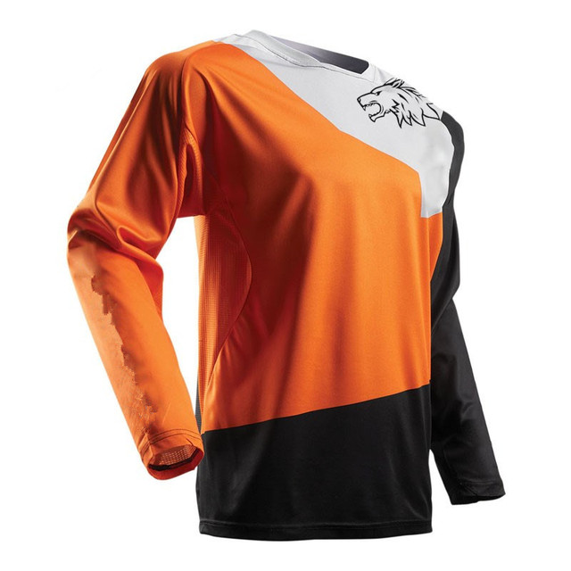 3a90ab8b1 2018 Man Motorcycle Jerseys Moto XC GP Mountain Bike Motocross Jersey XC  BMX DH MTB T Shirt Clothes XS TO 5XL Custom yellow blue