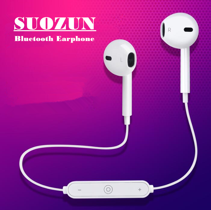SUOZUN TN Active Noise Cancelling Sports Bluetooth Earphone/Wireless Headset for phones and music