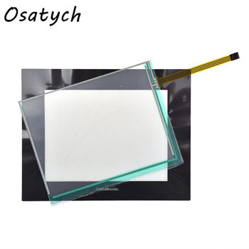 For Panasonic TP-3718S1 TP-4128S3FO Industrial Film+Touch Screen Replacement