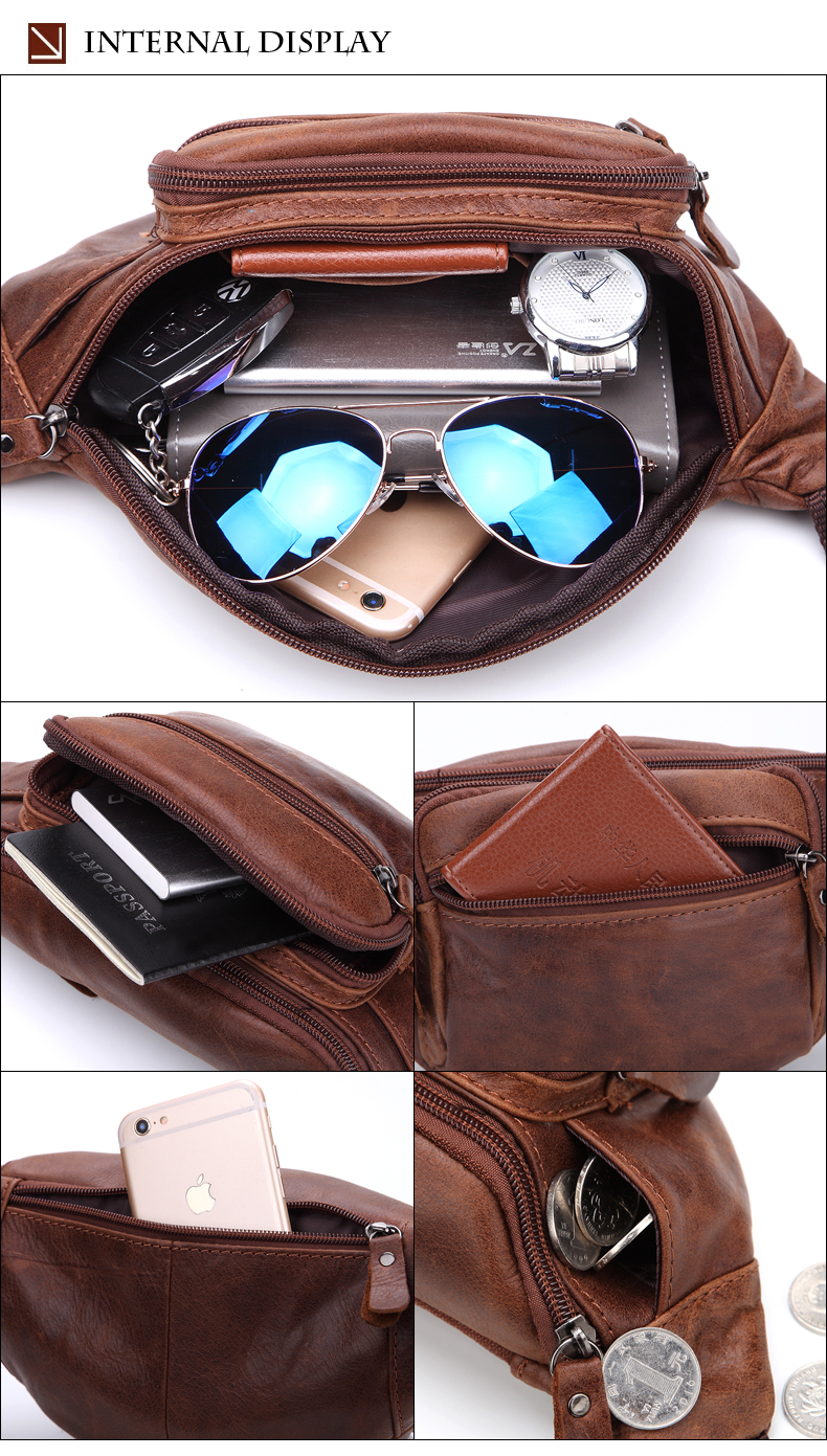 2019 Male Bag Leather 12