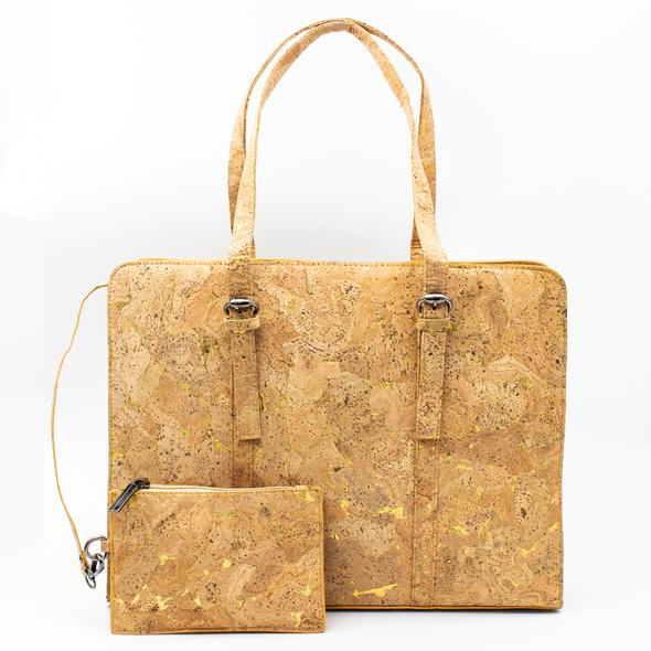 все цены на Cork bags cork handbag for women natural cork with Gold color handmade Original fashion handbag BAG-323-A онлайн