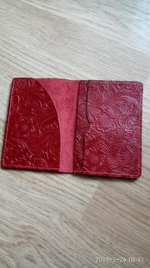 JOYIR luxe lederen paspoorthouder portemonnee vrouwen paspoort dekking portemonnee merk krediet en identiteitskaart pouch reli?f reizen portemonnee photo review