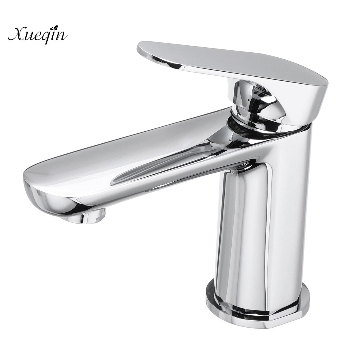 Modern Chrome Bathroom Waterfall Faucet Basin Sink Mixer Tap Single Handle Basin Faucet Desk Mount Brass Home newly modern simple bathroom waterfall widespread basin sink faucet chrome polish single handle single hole mixer tap deck mount