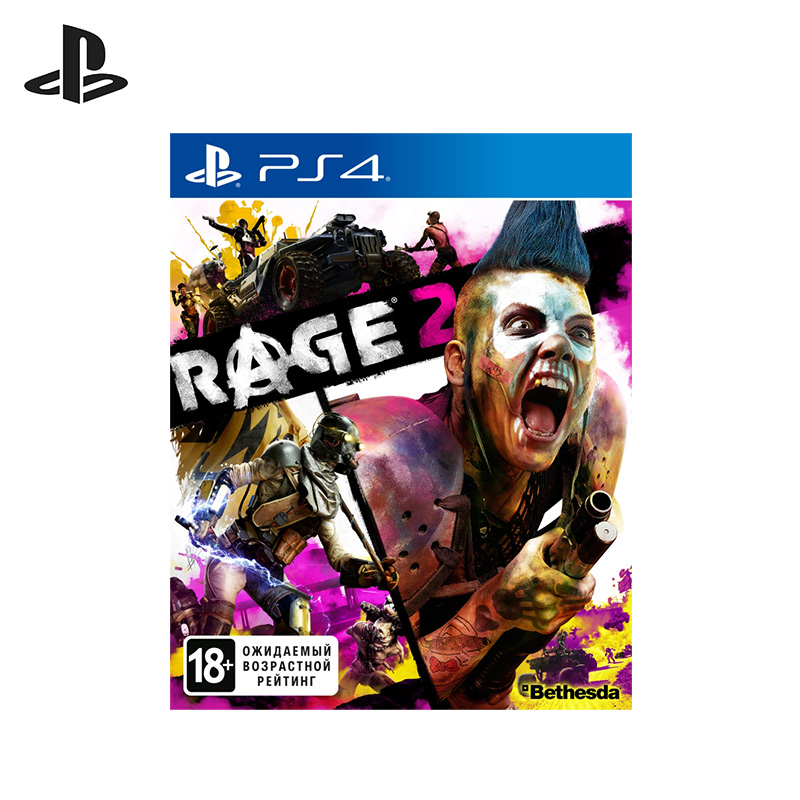 Game Rage 2 for PS4, Russian version