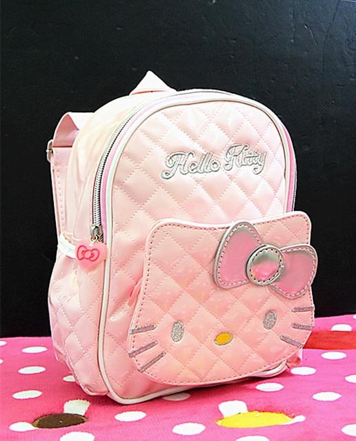 2172a1d52 Xingkings New Women Girl Hello kitty Bags Black Backpack bag Purse School  Bag KX-B0913