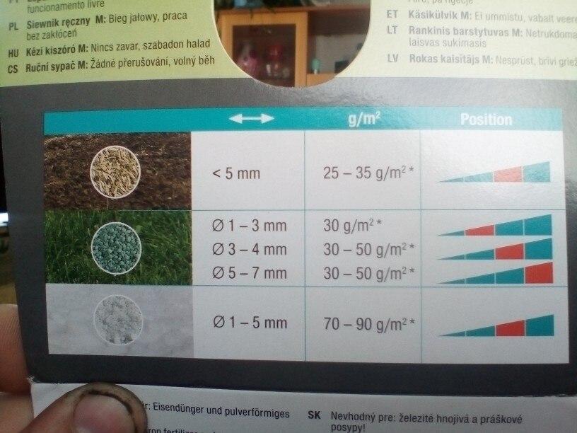 Spreader seeder GARDENA 00431-20.000.00