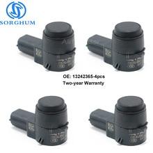 цена на 4pcs Parking Sensor PDC 13242365 Bumper Object Sensor For Chevrolet Cruze Buick Regal Saab 9-5 Opel Corsa Radar Detectors