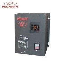 Однофазный стабилизатор напряжения Ресанта SPN-8300