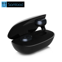 Samload Twins True Touch Wireless Bluetooth Earphone Headphone With Mic TWS Headset Mini Earbuds Earpiece With