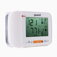 YUWELLWrist type Blood Pressure monitor Automatic Pressurization Blood Pressure Monitor Digital LCD Blood Pressure Monitor 8600A contec 08a vet digital blood pressure monitor veterinary animal nibp spo2 probe