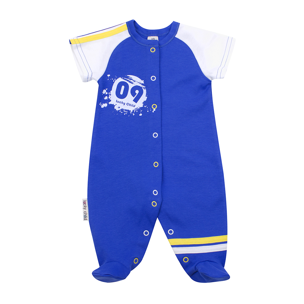 Jumpsuit Lucky Child for boys 19-21 Children's clothes kids Rompers for baby
