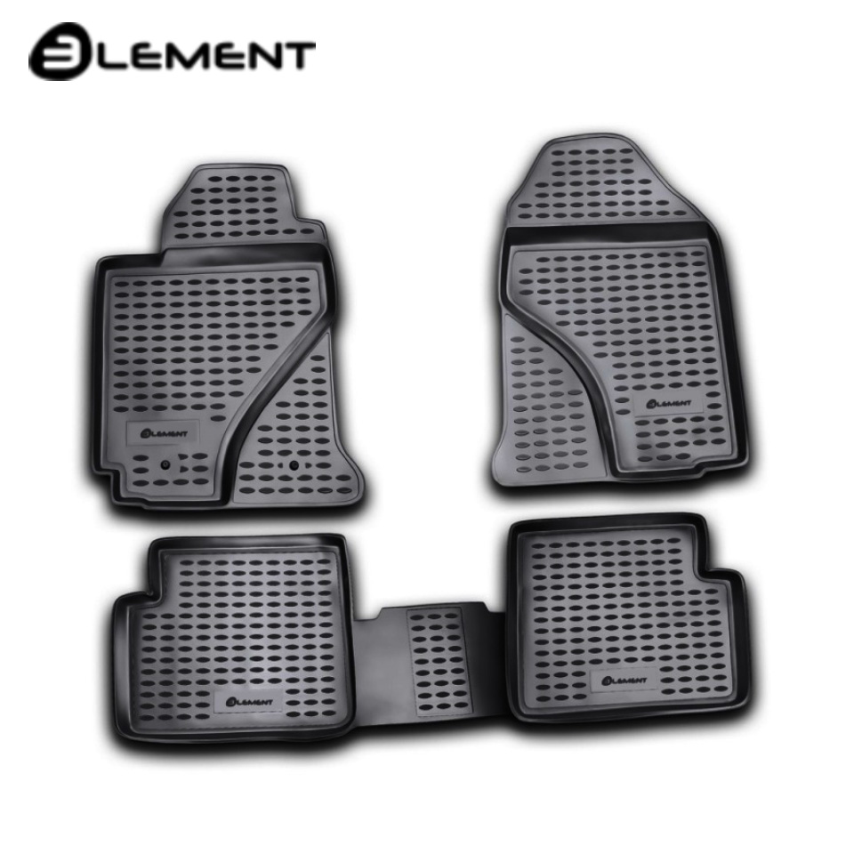For Toyota Corolla E120 2002-2007 floor mats into saloon 4 pcs/set Element NLC4803210K