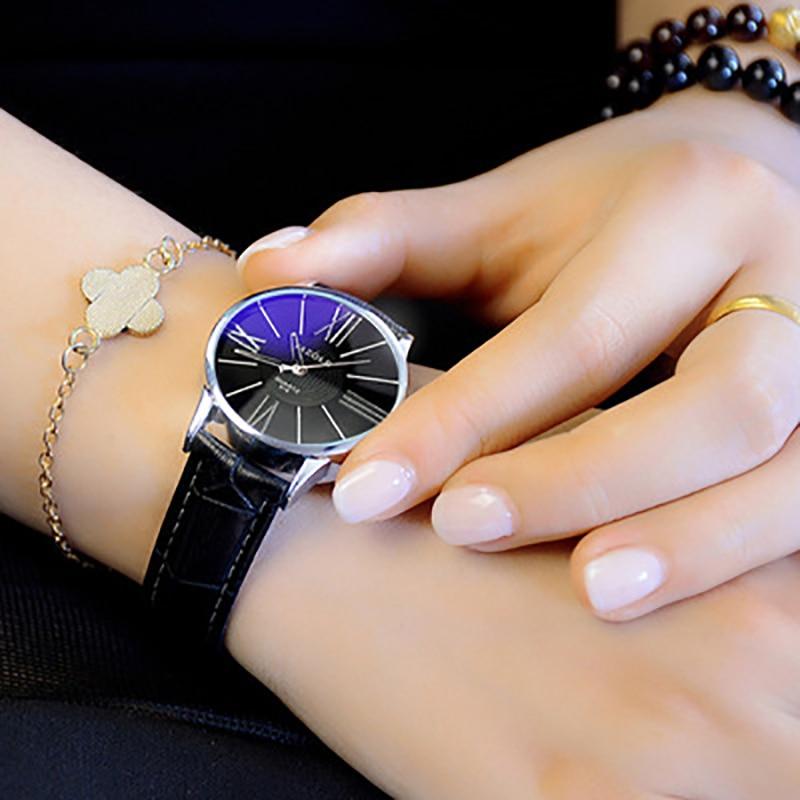 Nowe zegarki Fashion Classic Nylonowy pasek nato Zegarki damskie - Zegarki damskie - Zdjęcie 5