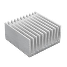 40x40x20 мм Алюминий теплоотвод IC Радиатор охлаждения Fin для Процессор LED Мощность активный компонент