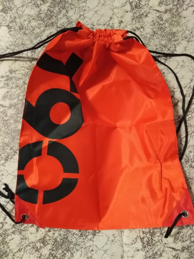 NoEnName_Null Backpack Shopping Drawstring Bags Waterproof Travel Beach Gym Shoes Sports Oxford Cloth Pack photo review