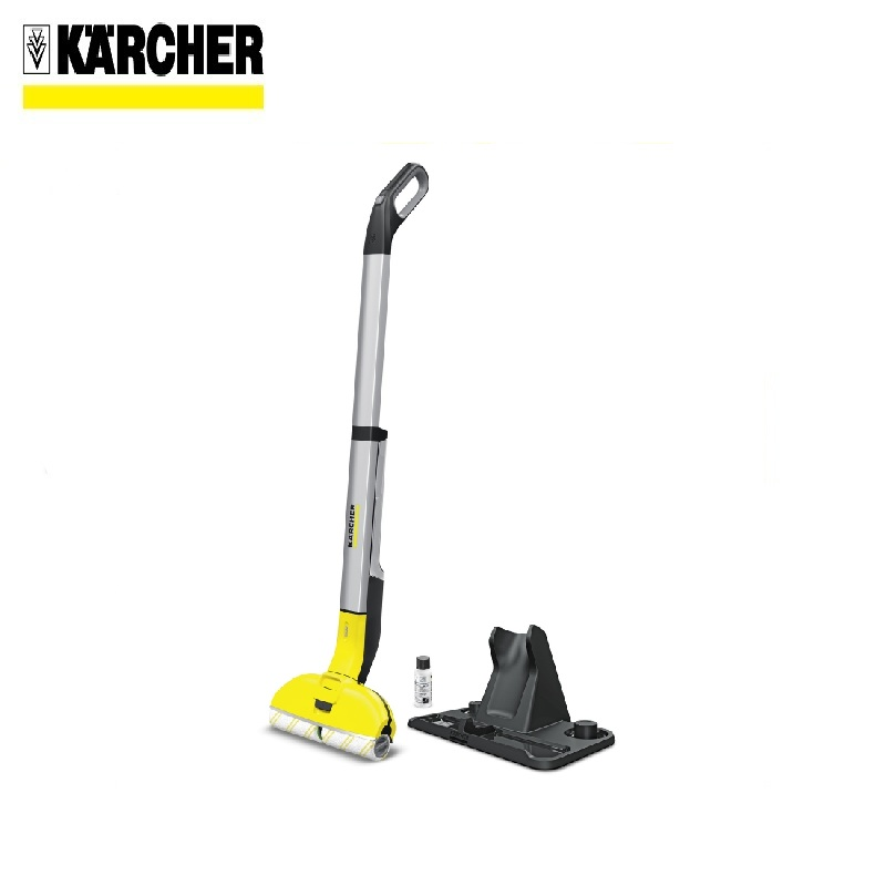 Machine for wet cleaning FC 3 Cordless Washes the floor with clean water Cleaning any premises sanli темно красный