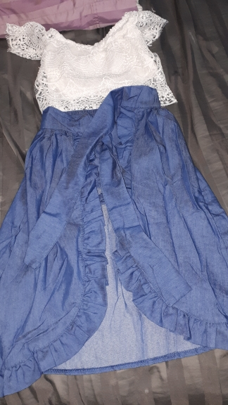 Conjuntos de roupas novidade princesa menina