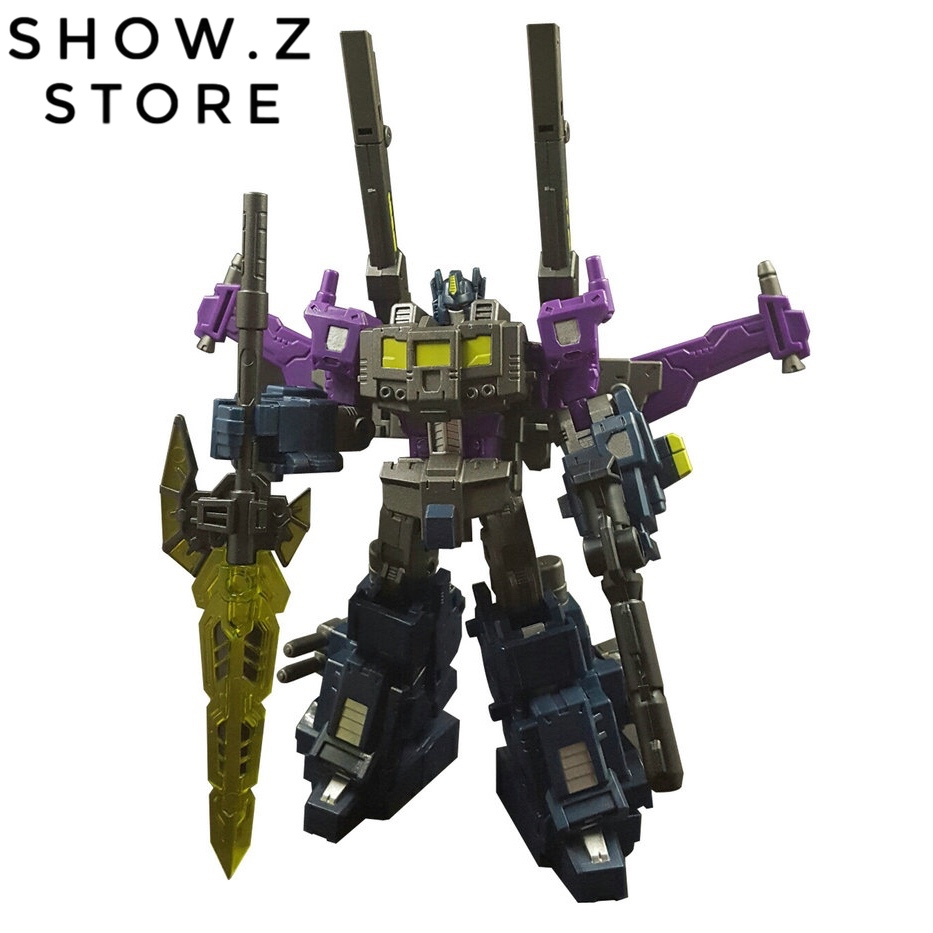 [Show.Z Store] Iron Factory IF-EX14M Mirrored Commander Shattered Glass OP Super Ginrai Transformation Action Figure[Show.Z Store] Iron Factory IF-EX14M Mirrored Commander Shattered Glass OP Super Ginrai Transformation Action Figure