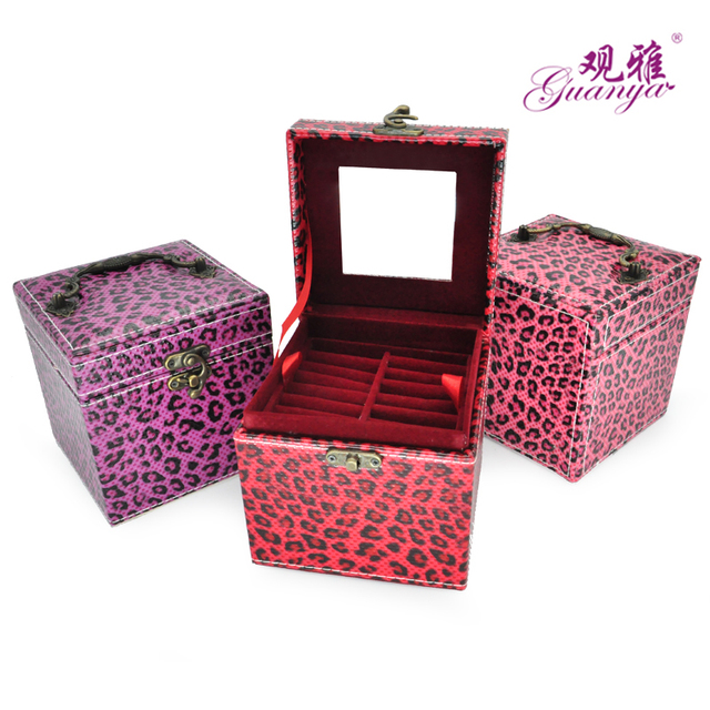 Aliexpresscom Buy 2017 Hot sale Leopard jewelry box for promotion