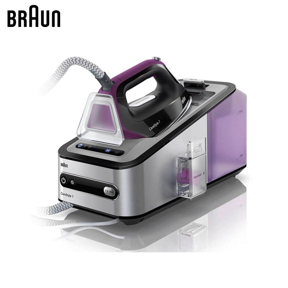 лучшая цена Electric Irons Braun Carestyle 7 IS7144 BK steam iron steamer