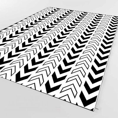 Else Black Ethnic Arrows Authentic Aztec 3d Print Non Slip Microfiber Living Room Decorative Modern Washable Area Rug Mat
