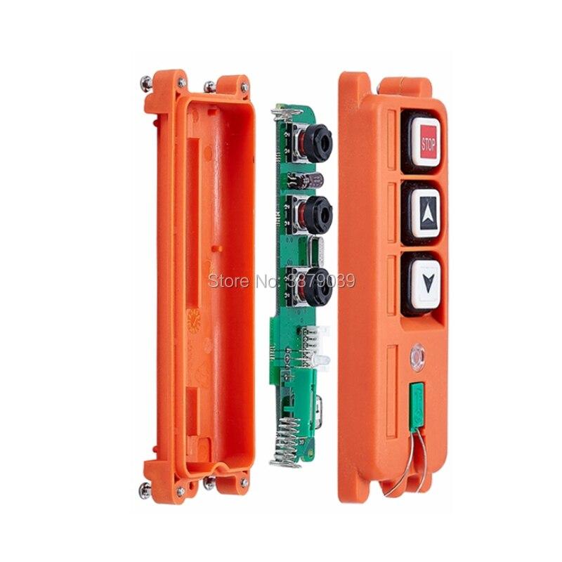 F21 2S (1 émetteur + 1 récepteur) télécommande sans fil industrielle pour grue - 5