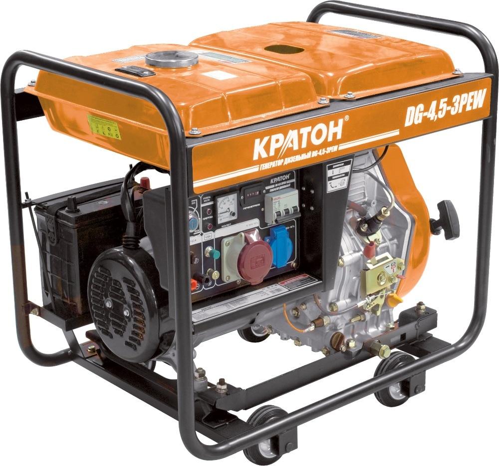Diesel generator KRATON DG-4500 3PEW free shipping dse7320 engine generator controller module auto start control suit for any diesel generator