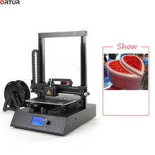 New Ortur FDM Desktop 3d Printer High Precision Big Building Volume 260*310*305MM ABS PLA filament 1.75mm Hot Sale Made in China wanhao abs luminous white filament 1 75mm hot sale