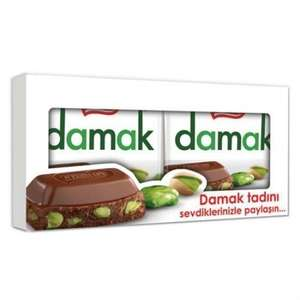 2 BARS of 80g/2.82oz NESTLÉ DAMAK FINE CHOCOLATE with PISTACHIOS - track