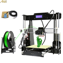 цена на Desktop 3D Printing Machine High Quality Fdm 3D Printer Small Size Printers 3D Good Quality Printing Speed 40-120MM/S Adjustable